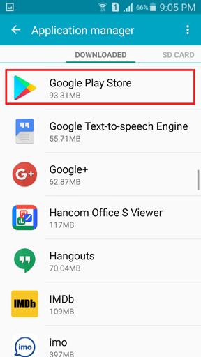 تغییر کشور در Google Play